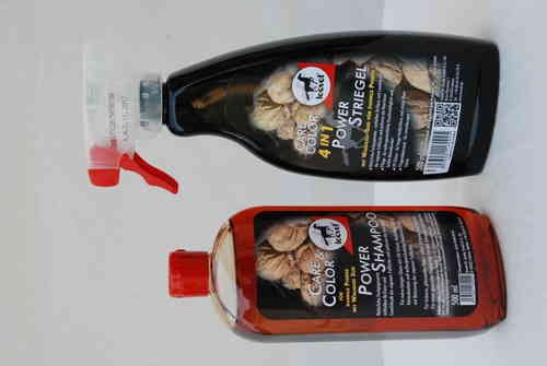 Power Shampoo dunkel Leovet 500ml