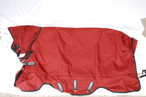 Horseware Rambo Plus Medium Brick red 125cm