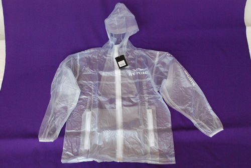 HV Polo Regenjacke Transparent