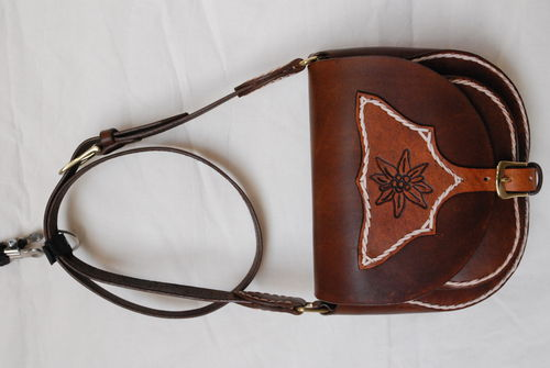 Handmade Handtasche brown